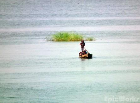 On the Mekong...