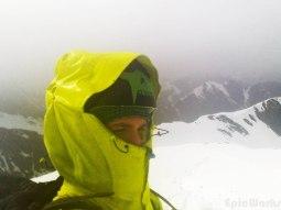 It's ranning on the summit. But it' s the summit!