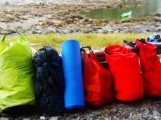 Dry bags, dry bags!