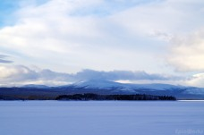 The snowy expanses of Norrboten