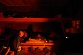 Sleeping quarters.