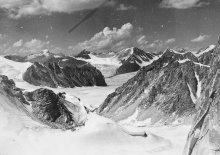 Ak-Shiirak Вид с перевала Птица на север. 1988г. ( credit Rinat Kurbanov)