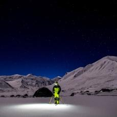 Camp 4. Myself under the stars.