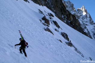 Magnus goes up (courtesy N. Chuch).