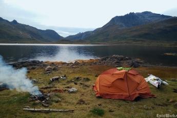Campsite #1, fire-lighting atemp succesful