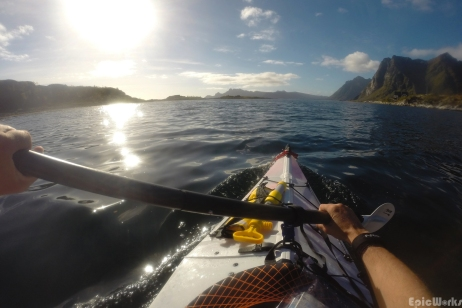 Freedom paddling