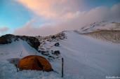Camp 1 at 3310 m