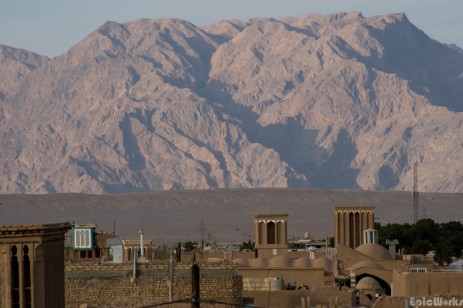 Across the rooftops of Yazd