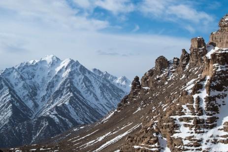 The Shir Kuh range