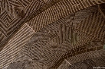 The roof of the Masjeh Mosque.
