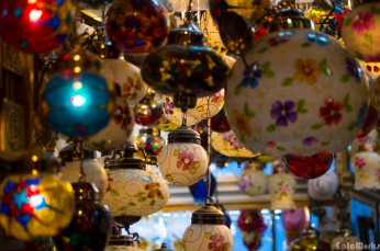Baubbles and other decorations.