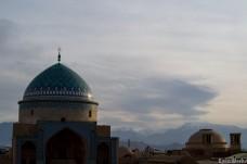 The skyline of Yazd