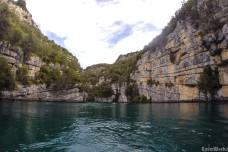 Between the cliffs