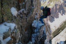 Tip-toeing on ice