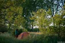 Camp 1, next to the canal