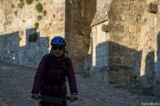 Through the cobbles streets