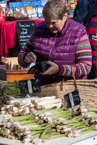 The market at Mirepoix