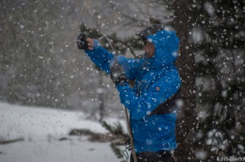 Skinning in the storm