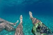 Swimming of Spiaggia Ziu Santoru