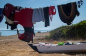 Drying in the Mediterranean sun