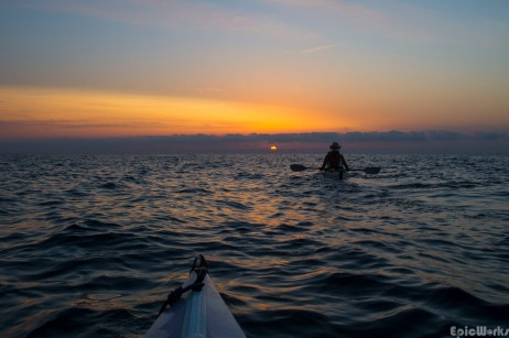Paddling the east coast of Sardinia