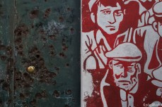 Bullets and street art