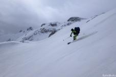 We start the descent out of Munzur (courtesy JB Cazaux)
