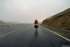 Rain and snow on the pass!