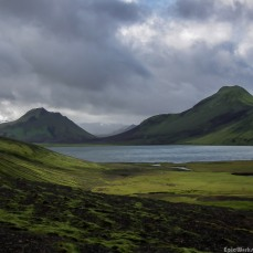 Colours of Iceland, the moss covered volcanoes of the highlands