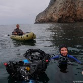 Diving and rafting off the west coast