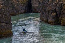 Greg explores the beautiful Brúarhlöð canyon