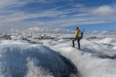 An infinite sea of ice, calling to us