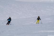 Synchronised skiing