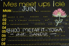 Sandie's last class at Löle on the June board!